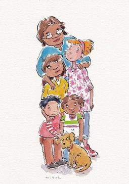 illustrating childrens book