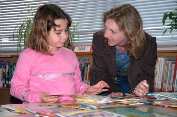 teaching child to read