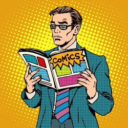 cartoon_man_reading_a_comic_book